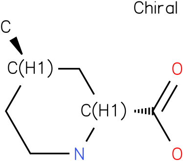 (2R,4R)-4-Methylpiperidine-2-carboxylic acid