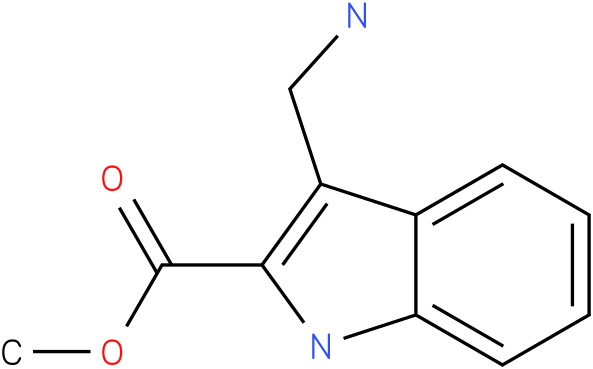 3-aminomethyl-1H-indole-2-carboxylic acid methyl ester