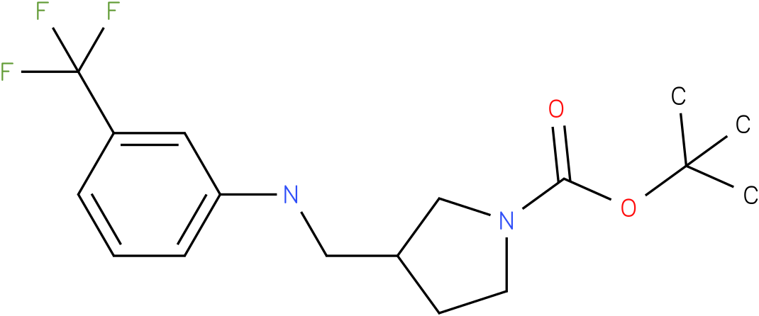 1-Boc-3-{[(3-Trifluoromethyl-phenyl)-amino]-methyl}-pyrrolidine
