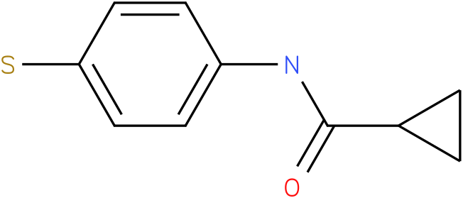 N-(4-sulfanylphenyl)cyclopropanecarboxamide