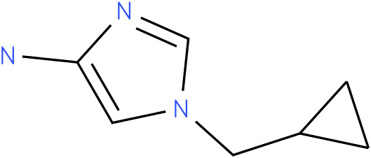 1-(cyclopropylmethyl)-1H-imidazol-4-amine