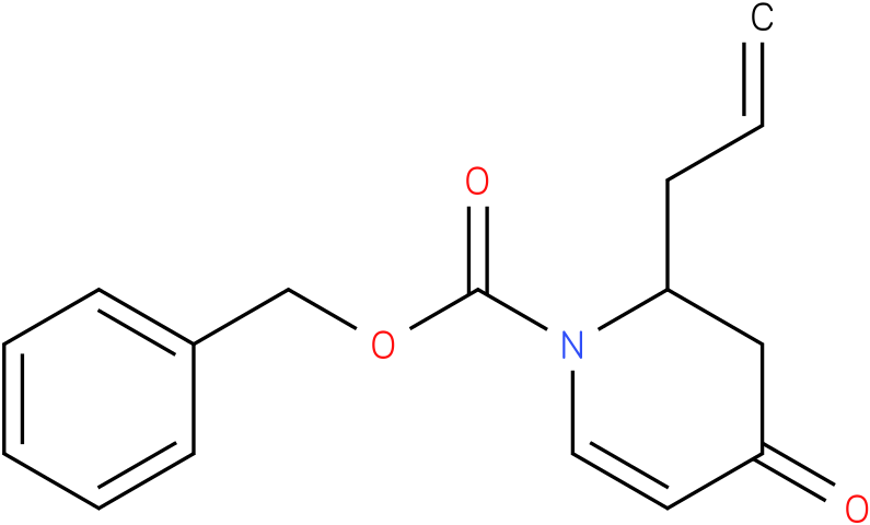 benzyl 2-allyl-3,4-dihydro-4-oxopyridine-1(2H)-carboxylate