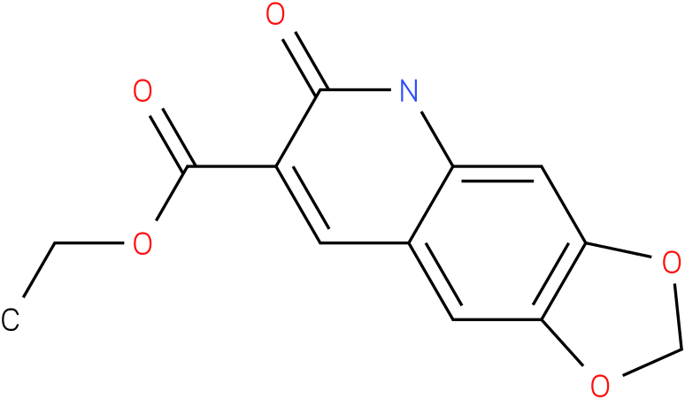 ethyl 5,6-dihydro-6-oxo-[1,3]dioxolo[4,5-g]quinoline-7-carboxylate