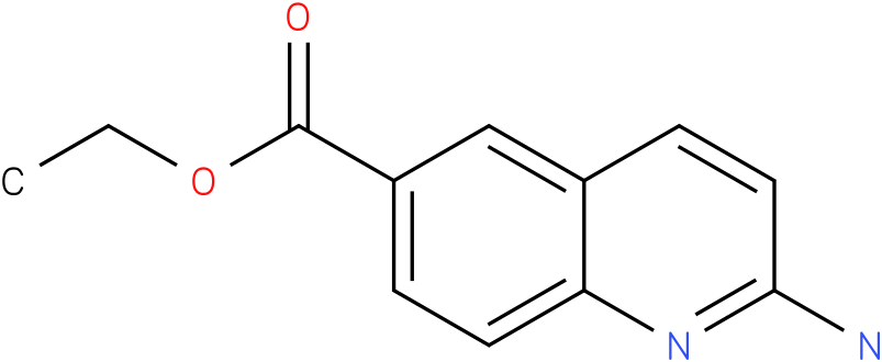 ethyl 2-aminoquinoline-6-carboxylate