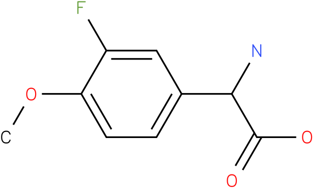 Amino-(3-fluoro-4-methoxy-phenyl)-acetic acid