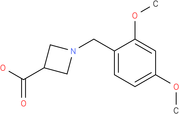 1-(2,4-dimethoxybenzyl)azetidine-3-carboxylic acid