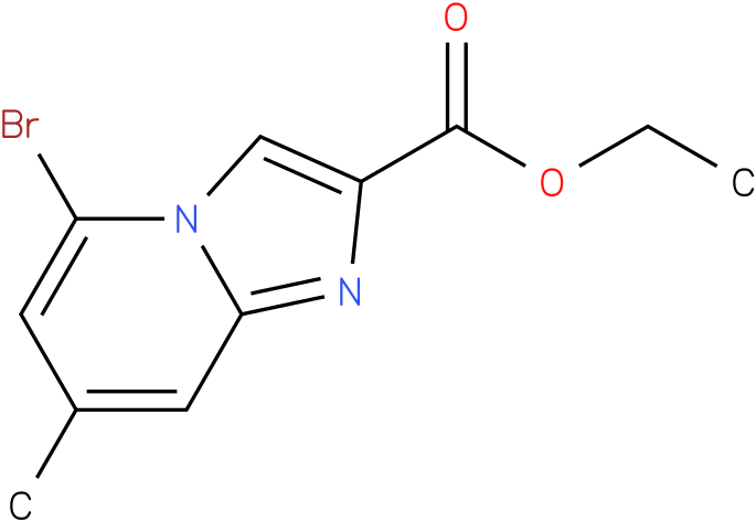 ethyl 8-bromo-6-methylH-imidazo[1,2-a]pyridine-2-carboxylate