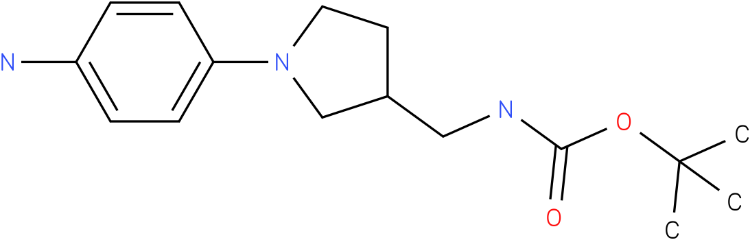 [1-(4-amino-phenyl)-pyrrolidin-3-ylmethyl]-carbamic acid tert-butyl ester