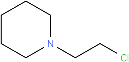 2-chloroethyl piperidine