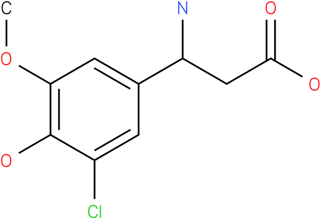 3-Amino-3-(3-chloro-4-hydroxy-5-methoxy-phenyl)-propionic acid